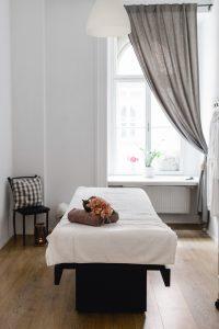 Behandlungszimmer bei Schönheitsschlaf
